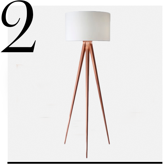 Director-Floor-Lamp-One-Kings-Lane-home-improvement-ideas-copper-home-decor-accessories