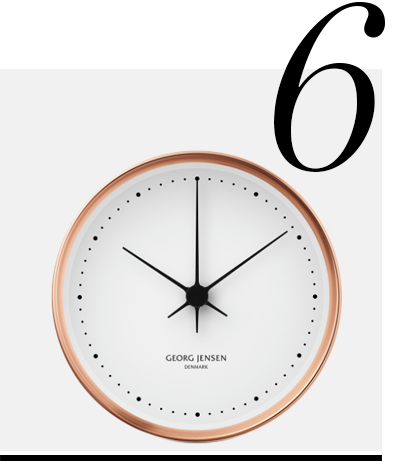 Henning-Koppel-Clock-Georg-Jensen-home-improvement-ideas-copper-home-decor-accessories