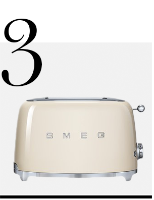 2-Slice-Toaster-in-Cream-SMEG-home-improvement-ideas-neutral-home-decor-accessories