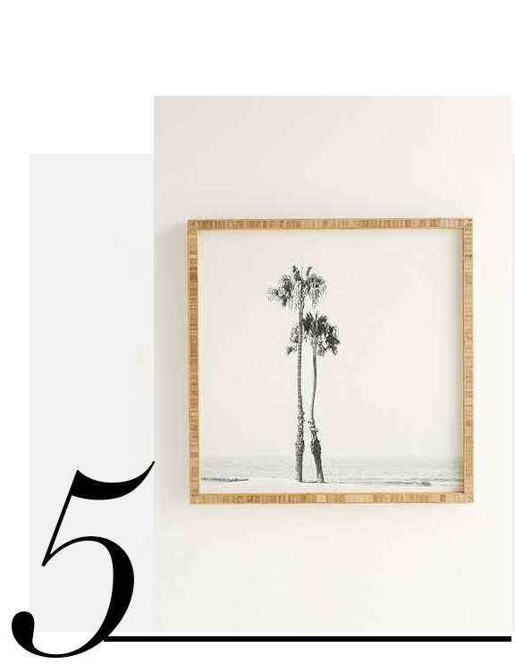 For-Deny-Two-Palms-Framed-Wall-Art-Urban-Outfitters-home-improvement-ideas-neutral-home-decor-accessories