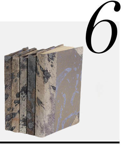 Metallic-Hide-Books-Leatherbooks.com-home-improvement-ideas-neutral-home-decor-accessories