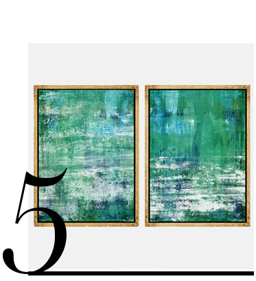 Abstract-Green-and-Blues-One-Kings-Lane-interior-design-ideas-color-top-ten-green-home-accessories