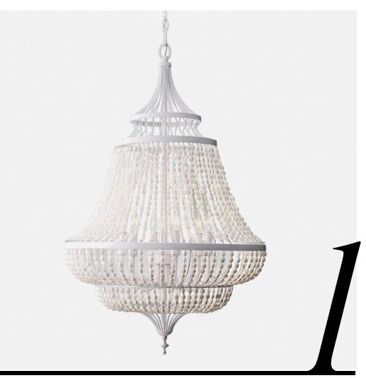 Maarid-6-Light-Chandelier-White-One-Kings-Lane-home-improvement-ideas-beach-home-decor-accessories