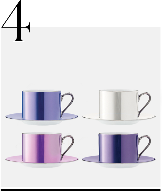 Polka-Assorted-Tea-Cups-And-Saucers-Set-of-4-LSA-International-luxurious-gifts-for-WOMEN-top-ten-STYLISH-gift-ideas
