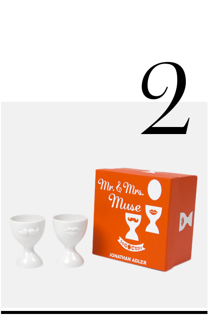 Mr-and-Mrs-Muse-Egg-Cup-set-Jonathan-Adler-luxurious-gifts-for-weddings-top-ten-STYLISH-gift-ideas