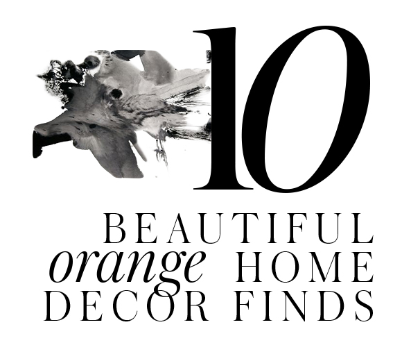 home-improvement-orange-home-decor-accessories-ideas