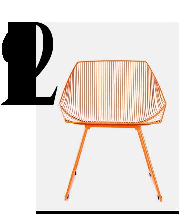 Bunny-Retro-Orange-Iron-Wire-Chair-Bend-Goods-home-improvement-orange-home-decor-accessories-ideas