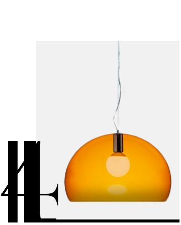 FL-Y-1-Light-Suspension-Bowl-Pendant-Kartell-home-improvement-orange-home-decor-accessories-ideas