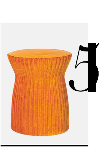 Seasonal-Living-Vienna-Ridged-Stool-Orange-home-improvement-orange-home-decor-accessories-ideas