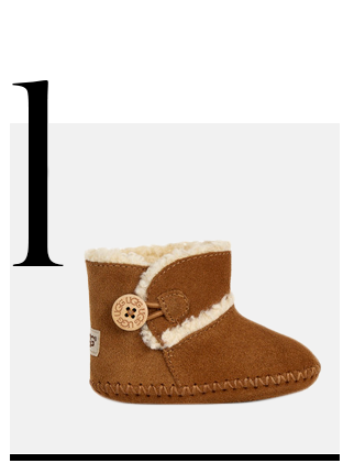 Lemmy-Infant-Boots-Chestnut-UGG-luxurious-gifts-for-babies-top-ten-STYLISH-gift-ideas