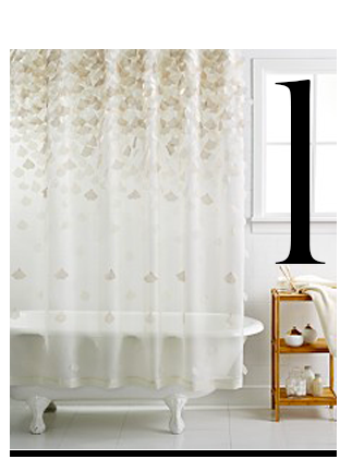 Attractive Martha Stewart Collection Falling Petals Shower Curtain Macys