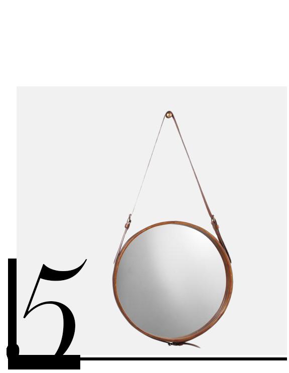 Mini-Hanging-Mirror-Leather-Jamie-Young-top-10-bathroom-mirrors-home-improvement-ideas-bathroom