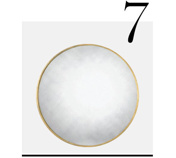 Round-Mirror-Brass-28-Threshold-top-10-bathroom-mirrors-home-improvement-ideas-bathroom