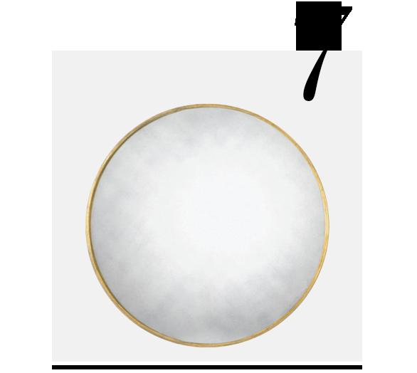 Round-Mirror-Brass-28-Threshold-top-10-bathroom-mirrors-home-improvement-ideas-bathroom
