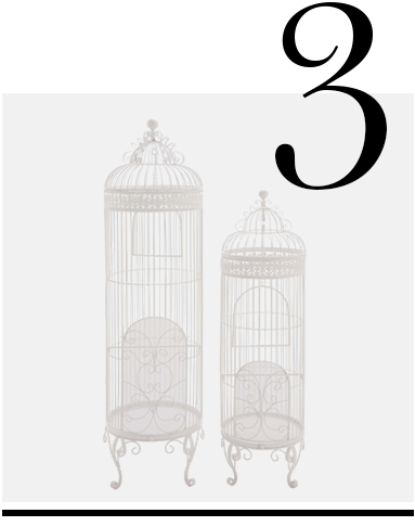 The-Cool-Set-of-2-Metal-Birdcage-Woodland-Imports-home-improvement-ideas-white-home-decor-accessories