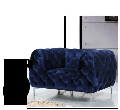 Mercer-Velvet-Armchair-Meridian-Furniture-USA-top-10-bedroom-chairs-home-improvement-ideas
