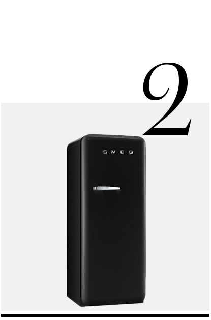 Refrigerator-with-Ice-Compartment-SMEG-top-10-black-colored-kitchen-accessories-home-decor-ideas-kitchen
