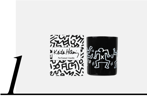Ligne-Blanche-X-Keith-Haring-Bougie-Parfumée-Keith-Haring-from-Colette-fred-butler-top-10-most-wanted-gifts