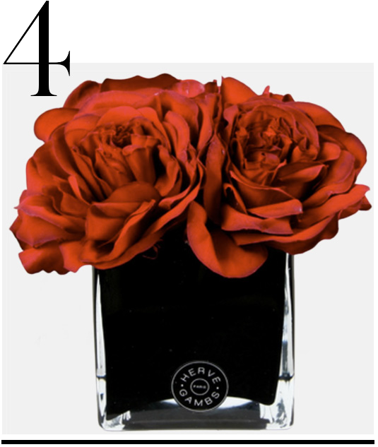 Red-Couture-Large-Roses-Small-Black-Glass-Cube-Herve-Gambs-top-10-holiday-decorations-red