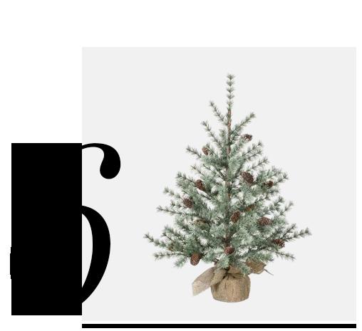 Pine-Burlap-Tree-Decoration-SULLIVANS-top-10-holiday-decorations-minimalist