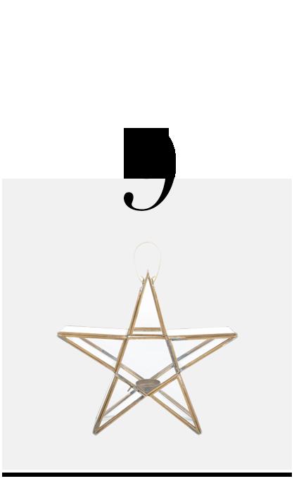 Sanwi-Standing-Star-Lantern-Brass-Small-Nkuku-top-10-holiday-decorations-minimalist