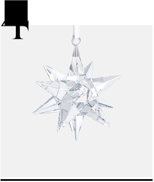 Star-Ornament-Swarovski-top-10-holiday-decorations-minimalist
