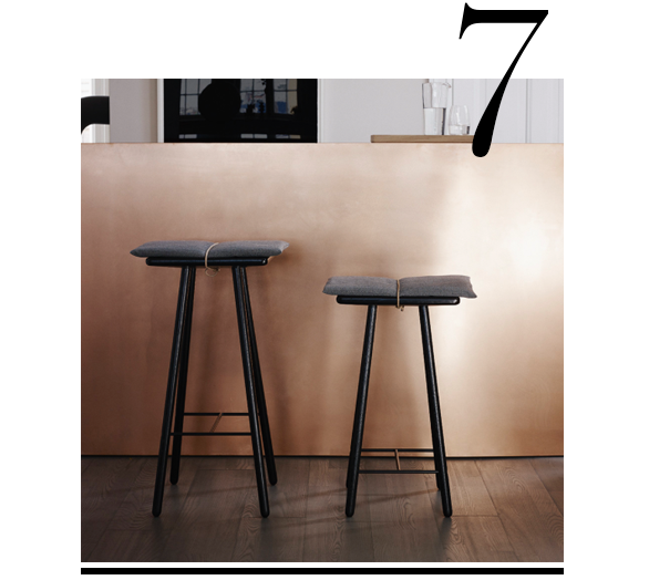 Merveilleux Georg Bar Stool Low Black Skagerak Top 10