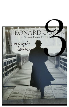Vinyl-album-hand-signed-by-Leonard-Cohen-top-10-korin-avraham-most-wanted