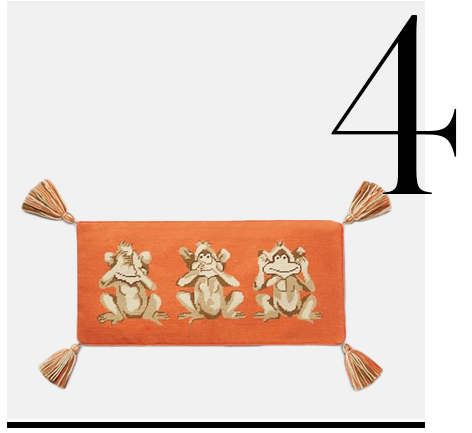 MONKEY-SEE-NEEDLEPOINT-PILLOW-top-10-tory-burch-most-wanted-home-accessories