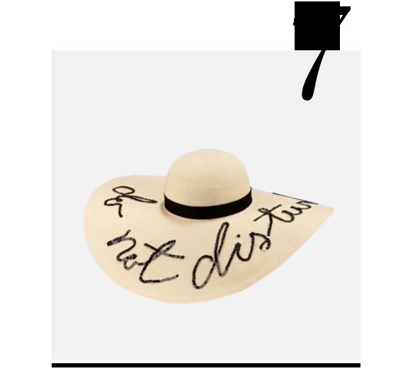 Sunny-Do-Not-Disturb-Sun-Hat-Eugenia-Kim-luxurious-gifts-for-WOMEN-top-ten-STYLISH-gift-ideas