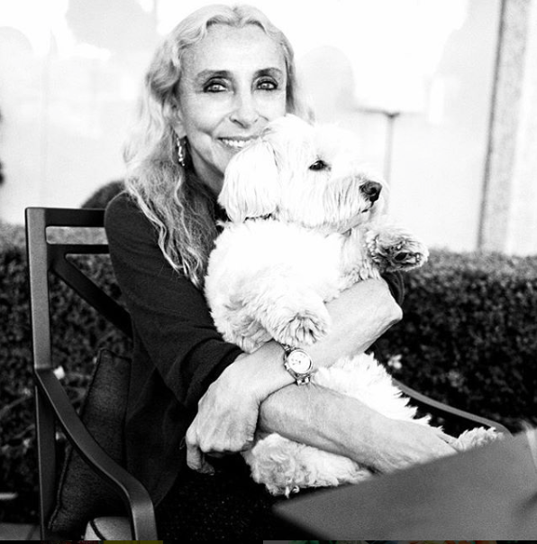 "MILANO...GREAT STAYING HOME WITH LASZLO...IT MAKES ME SMILING EVEN IN A RAINING DAY"" BY BRUCE WEBER SEE NOW PHOTO COURTESY BY FRANCA SOZZANI / @FRANCASOZZANI1 (VIA INSTAGRAM)"