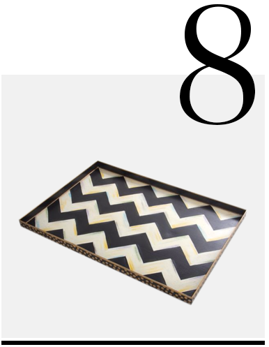 Zig-Zag-Tray-MacKenzie-Childs-luxurious-housewarming-gifts-top-ten-gift-ideas
