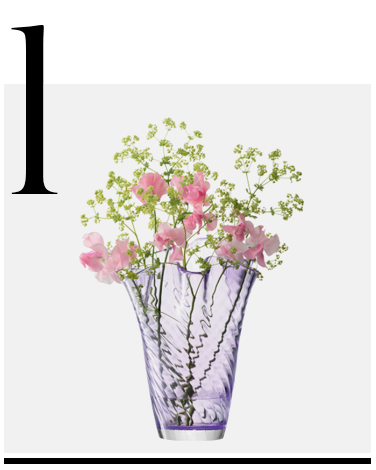 Chiffon-Vase-Lavender-LSA-International-top-10-home-decor-sale-accessories