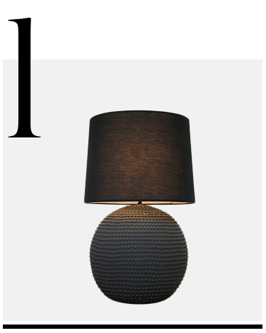 Urchin-Table-Lamp-Dark-Gray-Noir-top-10-black-table-lamps-home-accessories