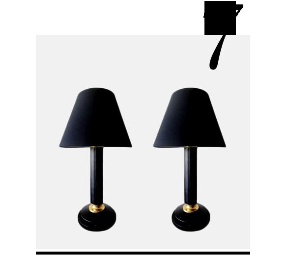 Le-Tanneur-Black-Leather-Lamps-Pair-Thomas-Brillet-Inc-top-10-black-table-lamps-home-accessories