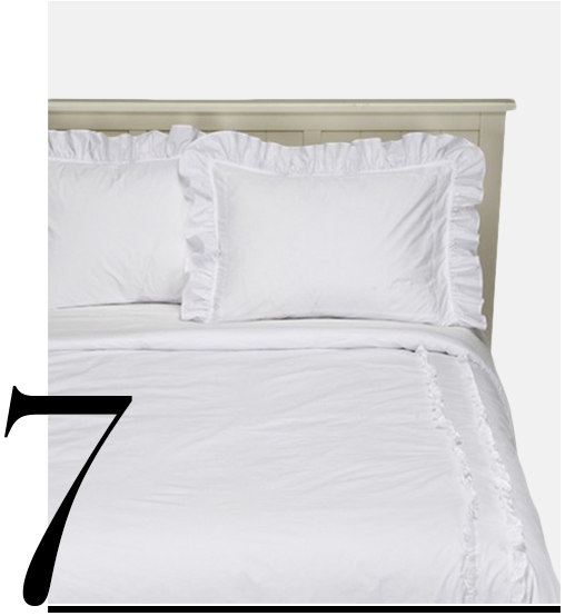 White-Ruffled-Heirloom-Comforter-Set-Simply-Shabby-Chic-top-10-white-bedroom-sets-furniture