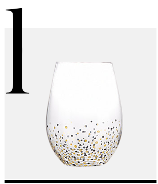Confetti-Stemless-Goblets-Set-of-4-Fitz-and-Floyd-top-10-drinking-glasses-on-sale