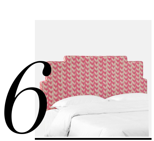 Paxton-Headboard-Pink-Jetty-Stripe-One-Kings-Lane-Collection-top-10-upholstered-headboard-bedroom-furniture