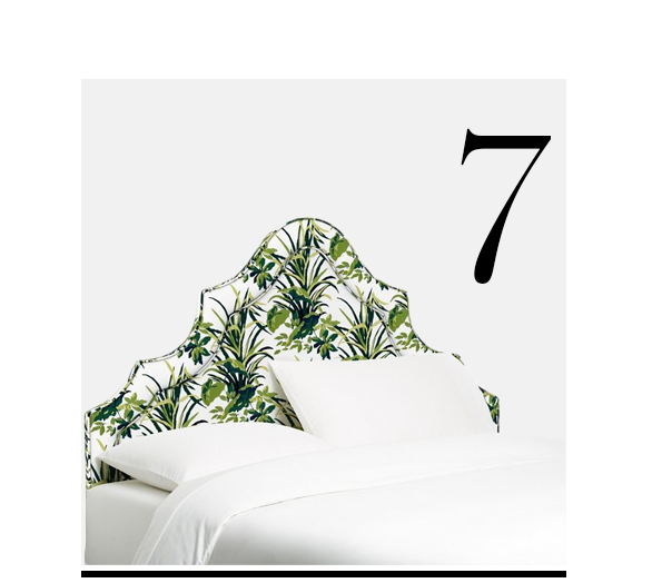 Dorset-Arched-Headboard-Palm-Leaf-One-Kings-Lane-Collection-top-10-upholstered-headboard-bedroom-furniture
