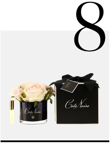 Roses-in-Black-Glass-with-Giftbox-Blush-Côte-Noire-new-york-flower-delivery-top-10