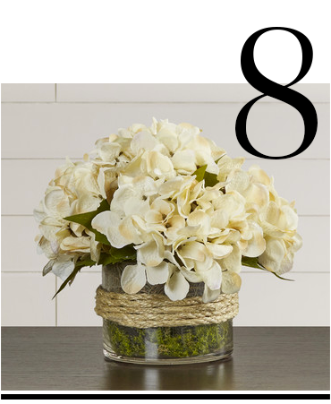 Hydrangea-in-Rope-Glass-Vase-August-Grove-white-artificial-flower-arrangements-top-10