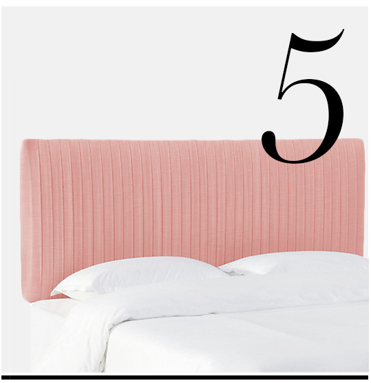 Erin-Pleated-Headboard-Pink-Linen-One-Kings-Lane-pale-pink-room-inspiration-decor