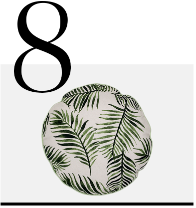 Round-Palm-Cushion-40cm-Bloomingville-top-10-palm-leaf-throw-pillows