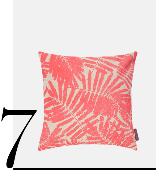 Espinillo-Cushion-45x45cm-Natural-Linen-Coral-Clarissa-Hulse-top-10-palm-leaf-throw-pillows