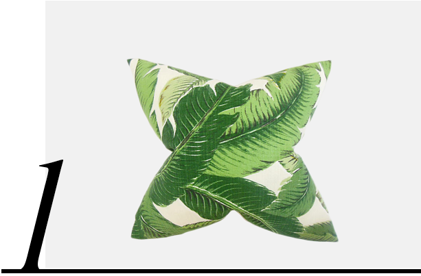 Palm-Pillow-Green-One-Kings-Lane-top-10-palm-leaf-throw-pillows