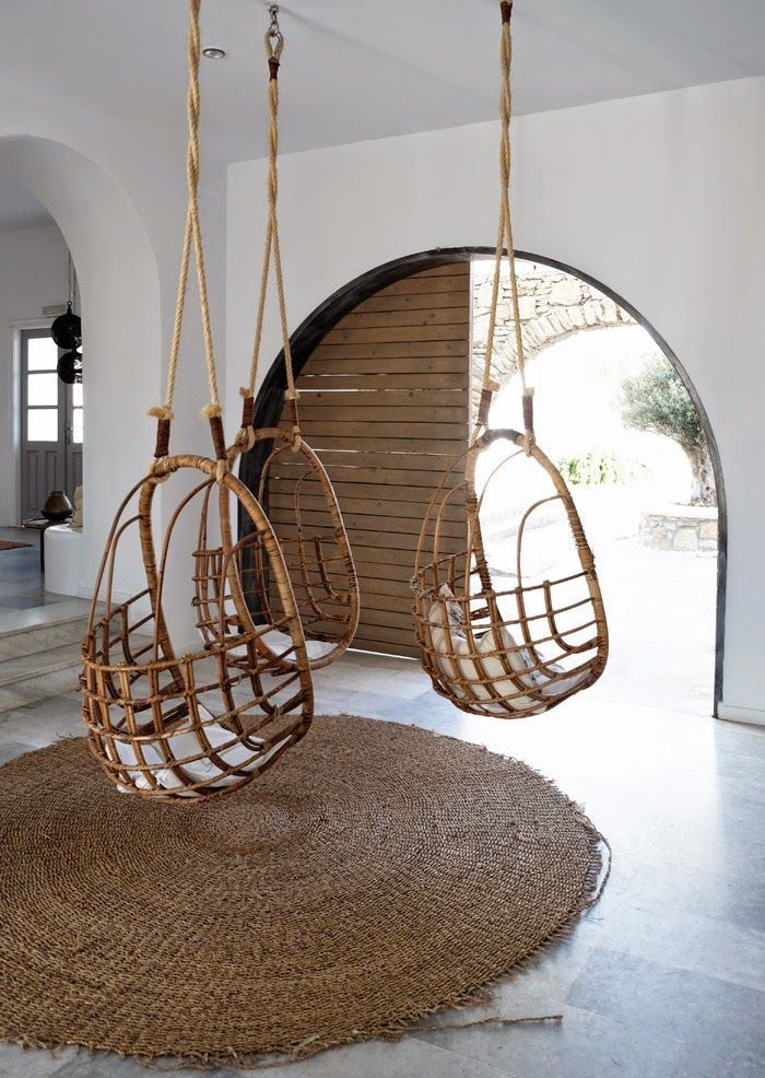 10 LUXE HANGING CHAIRS VIEW THE EDIT