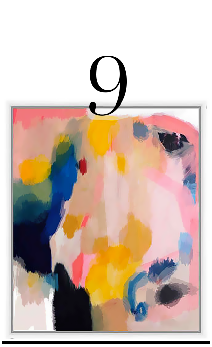 Valerie-Tovar-Pink-Lemonade-One-Kings-Lane-10-Sophisticated-Looking-Pieces-of-Abstract-Art
