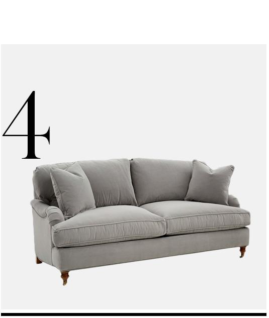 Brooke-Sofa-Gray-Velvet-ROBIN-BRUCE-top-10-Luxury-Looking-Velvet-Sofas