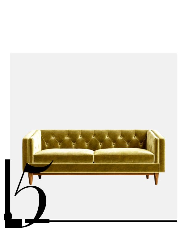Scarlett-Chesterfield-Sofa-Sandro-top-10-Luxury-Looking-Velvet-Sofas