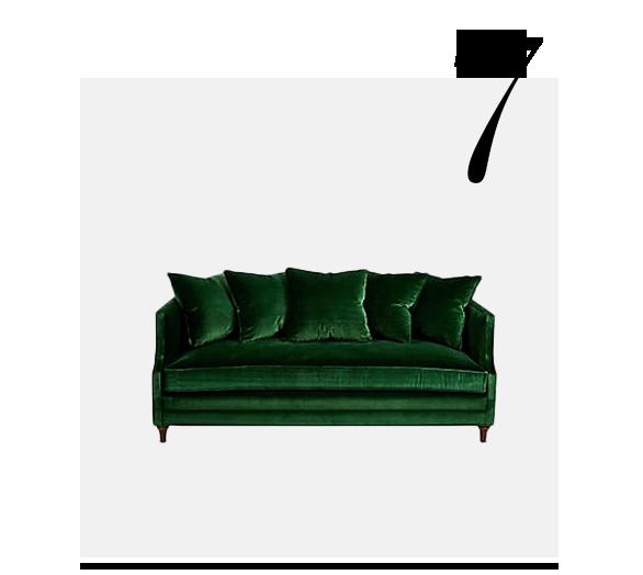 Dumont-Contrast-Welt-Sofa-Emerald-Velvet-ONE-KINGS-LANE-COLLECTION-top-10-Luxury-Looking-Velvet-Sofas